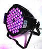 Светодиодный прожектор Led par 54x3 RGBW 3в1 светомузыка, подсветка, дискосвет, фото 8