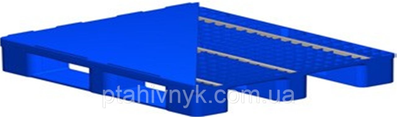 Поддон пластиковый 100x120x15 (Усиленный)