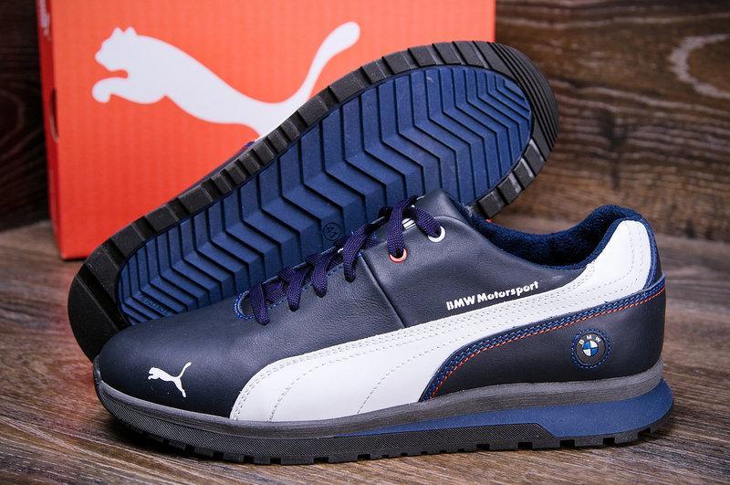 9e6150916591 Зимние мужские кроссовки Puma BMW, натур кожа (реплика)  продажа ...