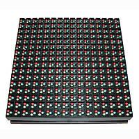 Водонепроницаемый светодиодный модуль герм (160мм*160мм) для бегущей строки P10RGBO (разноцветный)