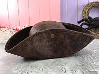 Шляпа треуголка Джек Воробей