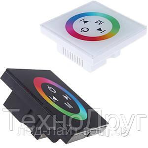 Контроллер для RGB ленты 12А панель (сенсор)