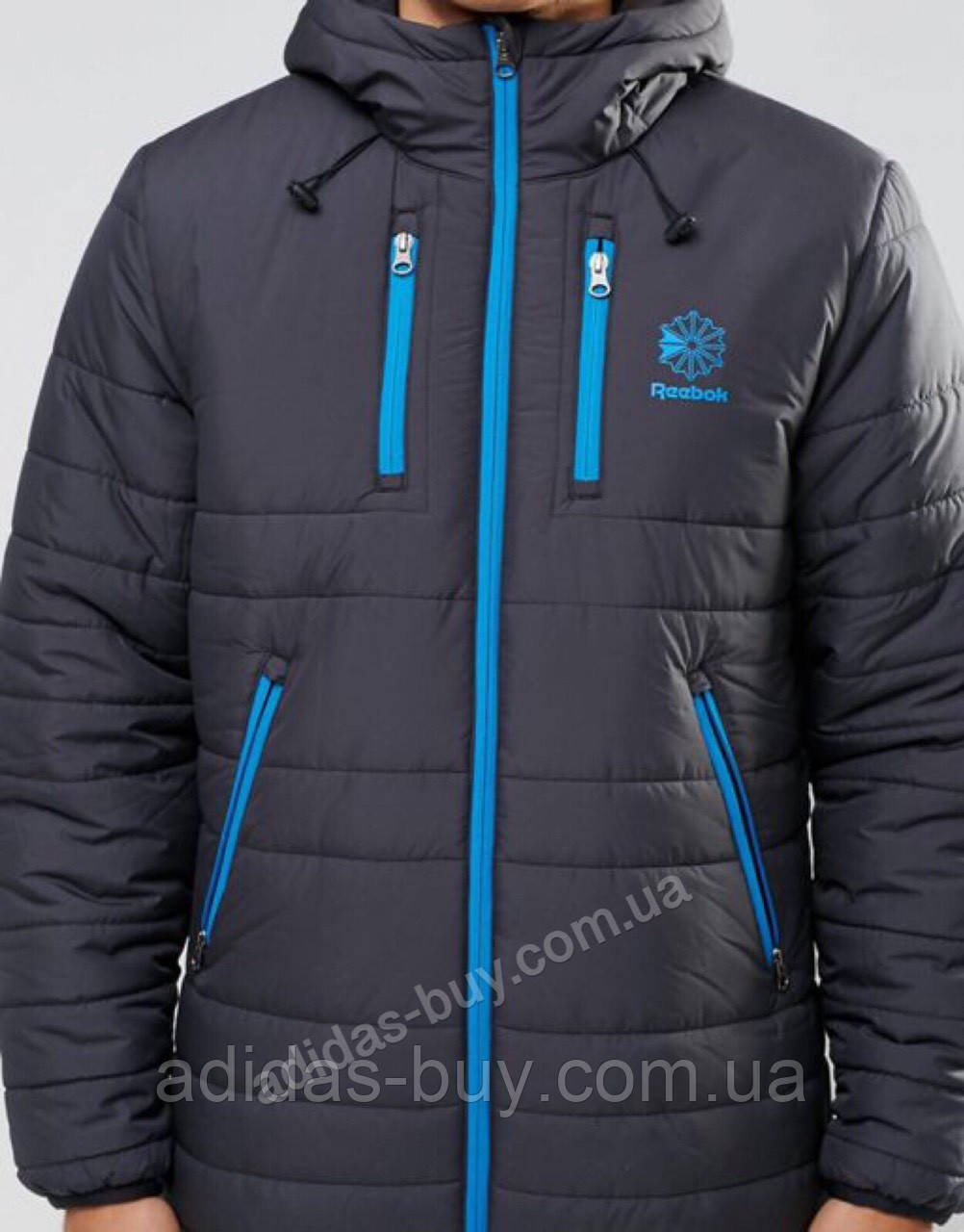 Куртка мужская оригинальная зимняя Reebok PADDED MID 2 JACKET AY1253 ц eba02efaadb84