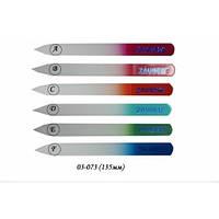 Пилка для ногтей стеклянная 135мм Zauber арт.03-073