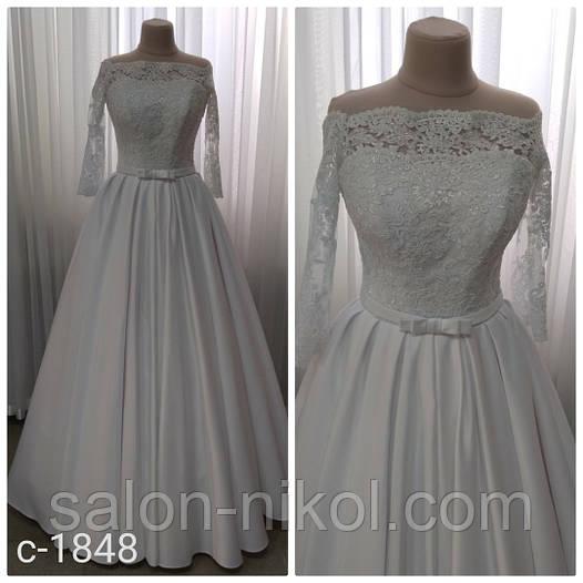 Свадебное платье 1848