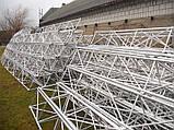 Мачта трехгранная алюминиевая М440 H=12m, фото 3
