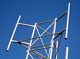 Мачта трехгранная алюминиевая М440 H=12m, фото 4