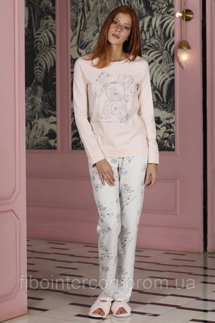 e2d331330a7 Женская трикотажная пижама брюки и кофта HAYS 19133. Коллекция одежды для  дома HAYS Зима 2019