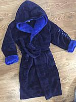 """Махровый детский халат для мальчика """"Спорт"""" (6-8 лет), фото 1"""