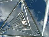 Мачта трехгранная алюминиевая М440 H=12m, фото 7