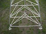 Мачта трехгранная алюминиевая М440 H=12m, фото 8