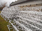 Мачта  алюминиевая трёхгранная М440 H=24m, фото 3
