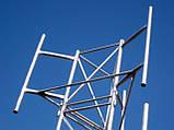 Мачта  алюминиевая трёхгранная М440 H=24m, фото 4