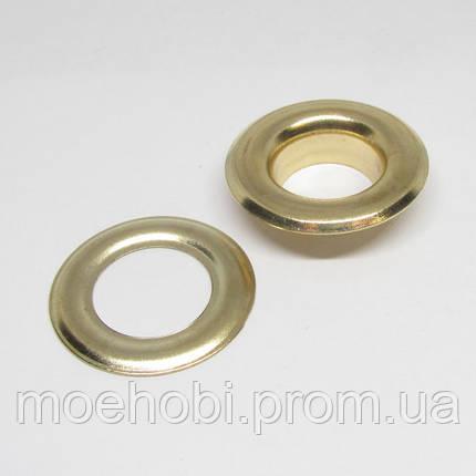 Люверсы (13мм, №28) золото, 10шт 5037, фото 2