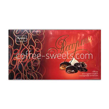 """Набор шоколадных конфет Кутюрье """"Ассорти"""" красная 130 г, фото 2"""