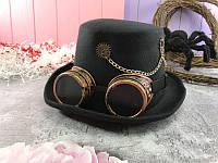 Шляпа Часовщика с очками