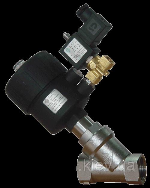 Клапан нержавеющий с пневмоприводом из полиамида G 1 21IA6T25GC2 ODE