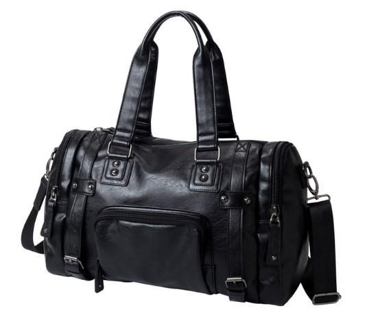 a6887905e50b Мужская кожаная спортивная сумка. Модель 042766 - Интернет-магазин