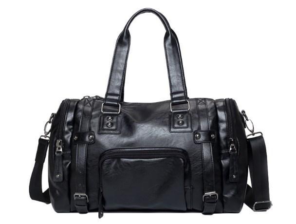 c3420b77a3a7 Модель 042766, фото 3 Мужская кожаная спортивная сумка. Модель 042766, фото  4