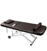 Массажный стол на эл.подъемнике с подогревом  широкая кушетка для косметологии ZD830A Comfort +