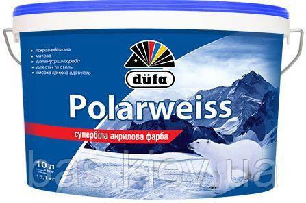 Краска DUFA Polarweiss D605 супер-белая 10л.