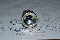 Винт М10 DIN 912 оцинкованный, фото 1