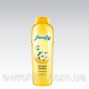 Ухаживающий шампунь Family с экстрактом ромашки, 1 л