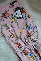 Новое цветочное миди платье с асимметричным низом New Look, фото 3