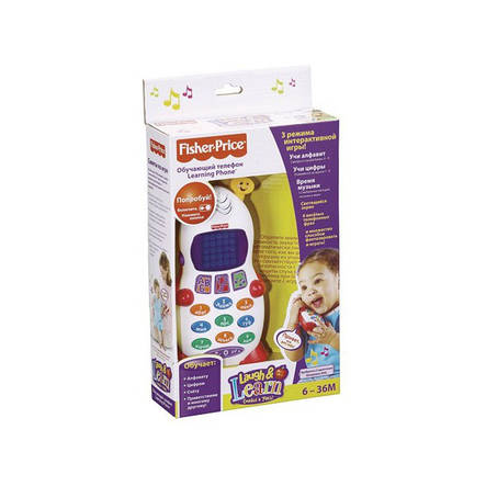 Ученый телефон Fisher-Price (рус), фото 2