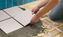 Нагревательные маты на сетке для укладки непосредственной под плитку - теплый пол