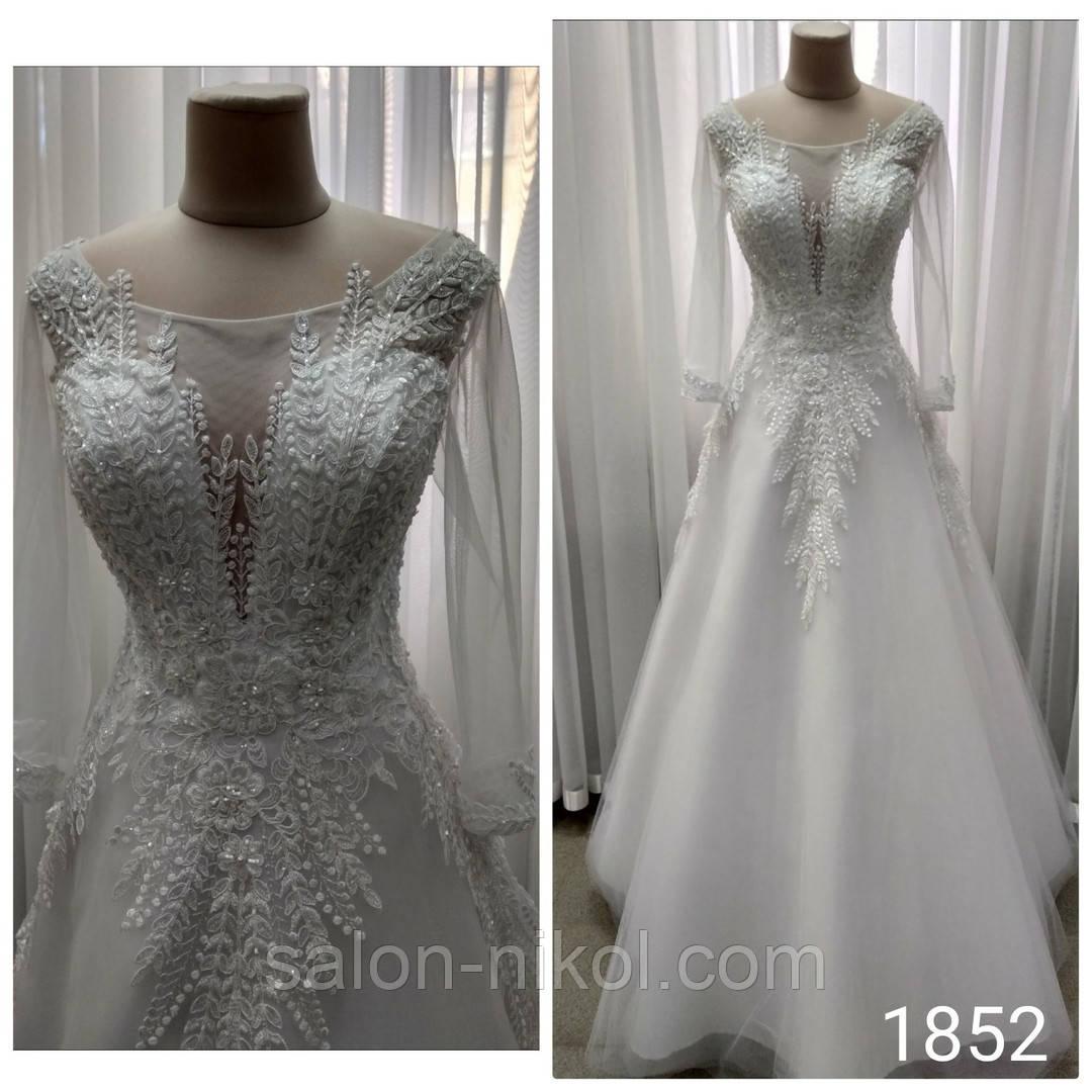 Свадебное платье 1852