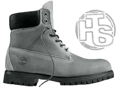 2124375d Мужские ботинки Timberland Classic Boots Gray Winter (с мехом), фото 2