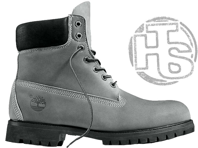 check out 4a13b ddb92 Мужские ботинки Timberland Classic Boots Gray Winter (с мехом) 44 - Bigl.ua