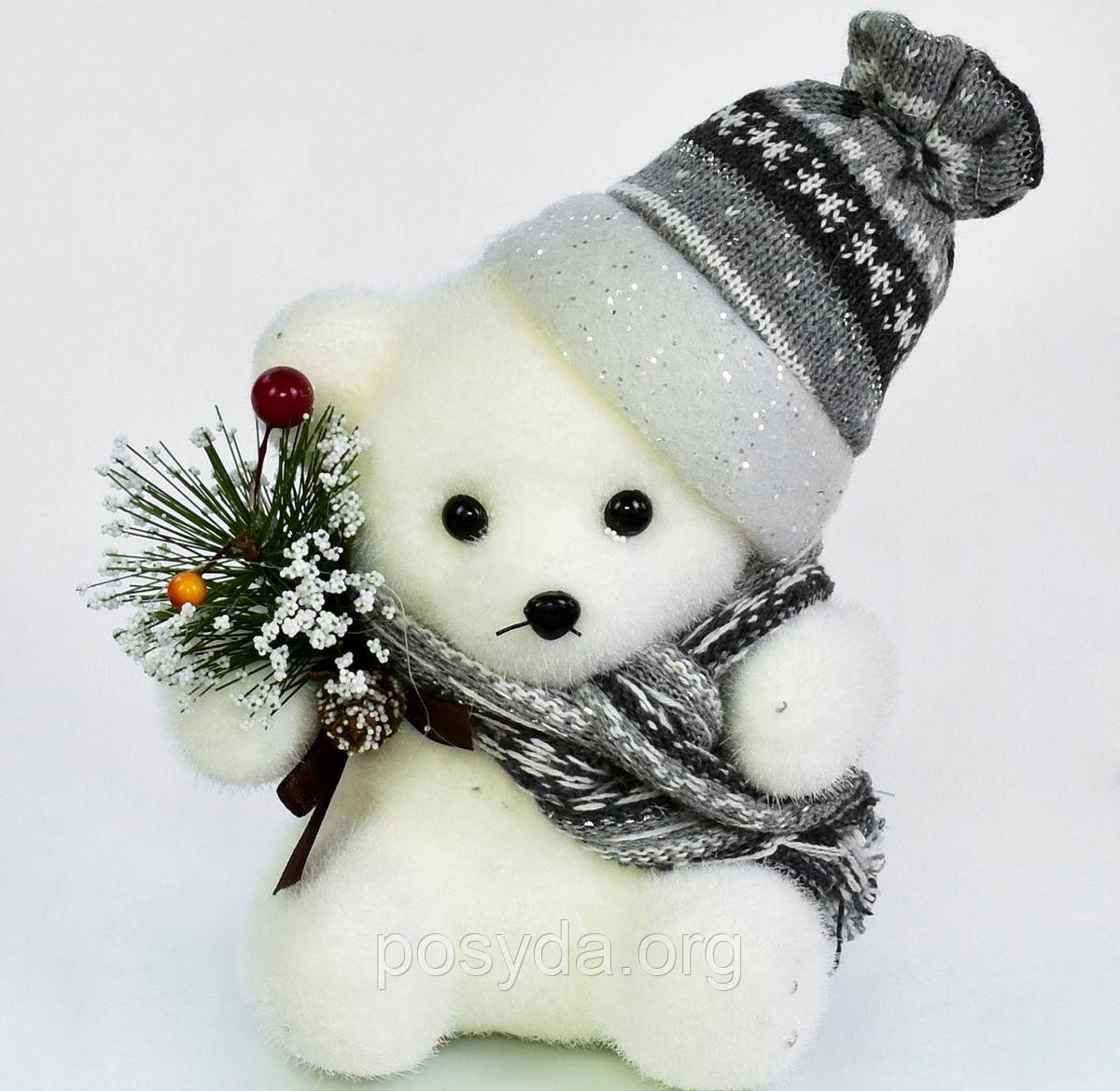 Декоративная фигурка Медвежонок C 30562  20 см