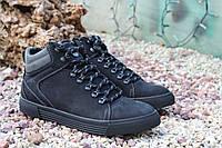 Стильные мужские демисезонные ботинки термо!, фото 1