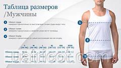 Таблица размеров мужского термобелья