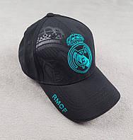 Кепка футбольная Реал Мадрид (черная)