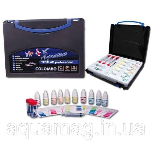Набор для анализа воды Colombo Aquatest TESTLAB Professional для пруда, водоема, УЗВ, озера