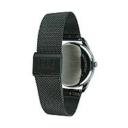 """Годинник наручний """"Білим по чорному"""" (чорний) + додатковий ремінець, фото 2"""