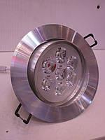 Точечный LED светильник КВ007 7W