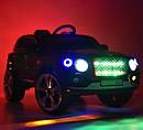 Детский электромобиль Джип Bentley Кожаное сиденье, EVA резина, Амортизаторы, красный, дитячий електромобіль, фото 6