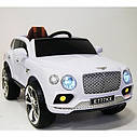 Детский электромобиль Джип Bentley Кожаное сиденье, EVA резина, Амортизаторы, красный, дитячий електромобіль, фото 9
