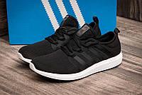 Кроссовки мужские в стиле Adidas Bounce, черные (2501-1),  [  43 (последняя пара)  ], фото 1