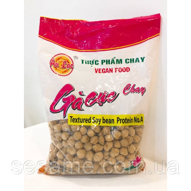 Соевое мясо (Курица) премиум качества Ga Cuc Chay Au Lac Vegan Food 1кг (Вьетнам)