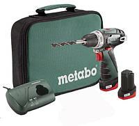 Аккумуляторный шуруповерт Metabo PowerMaxx BS в сумке (600079550)