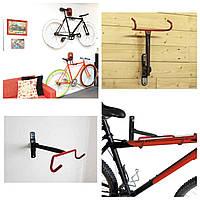Крепление для велосипеда на стену за раму(складное),подвесной кронштейн, фото 1
