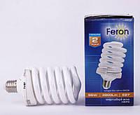 Экономка лампа энергосберигающая ELS64 55W E27, фото 1