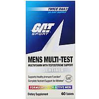 Витамины GAT Mens Multi+Test, 60 tabl, фото 1