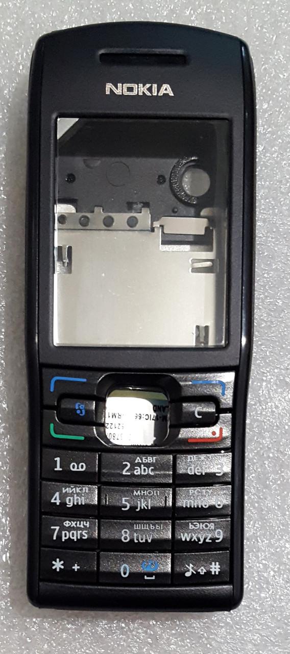 Корпус для Nokia E50 з клавіатурою black
