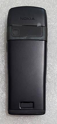 Корпус для Nokia E50 з клавіатурою black, фото 2
